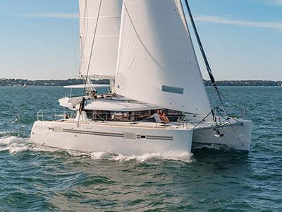 location bateau Lagoon 450 S