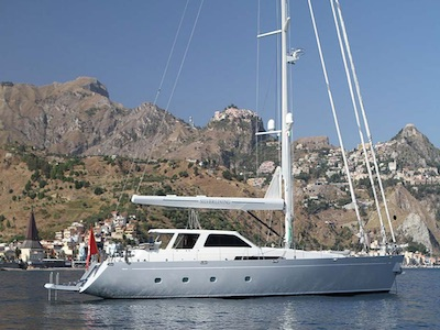 location bateau Sparkman & Stephens 104