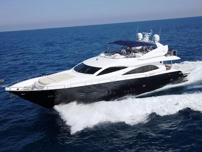 Location bateau  Sunseeker 90