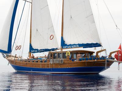 Location bateau  Kaptan Yarkin