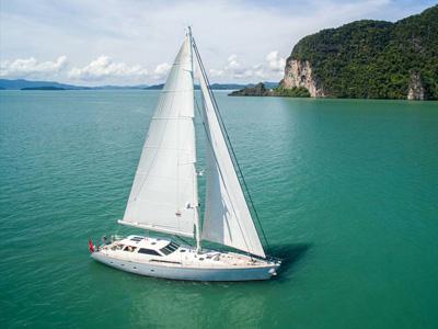 Location bateau  Silver Lining