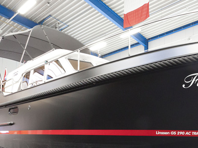 location bateau Linssen GS 290 AC