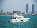location bateau Astondoa 82