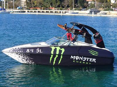 location bateau Crownline 205