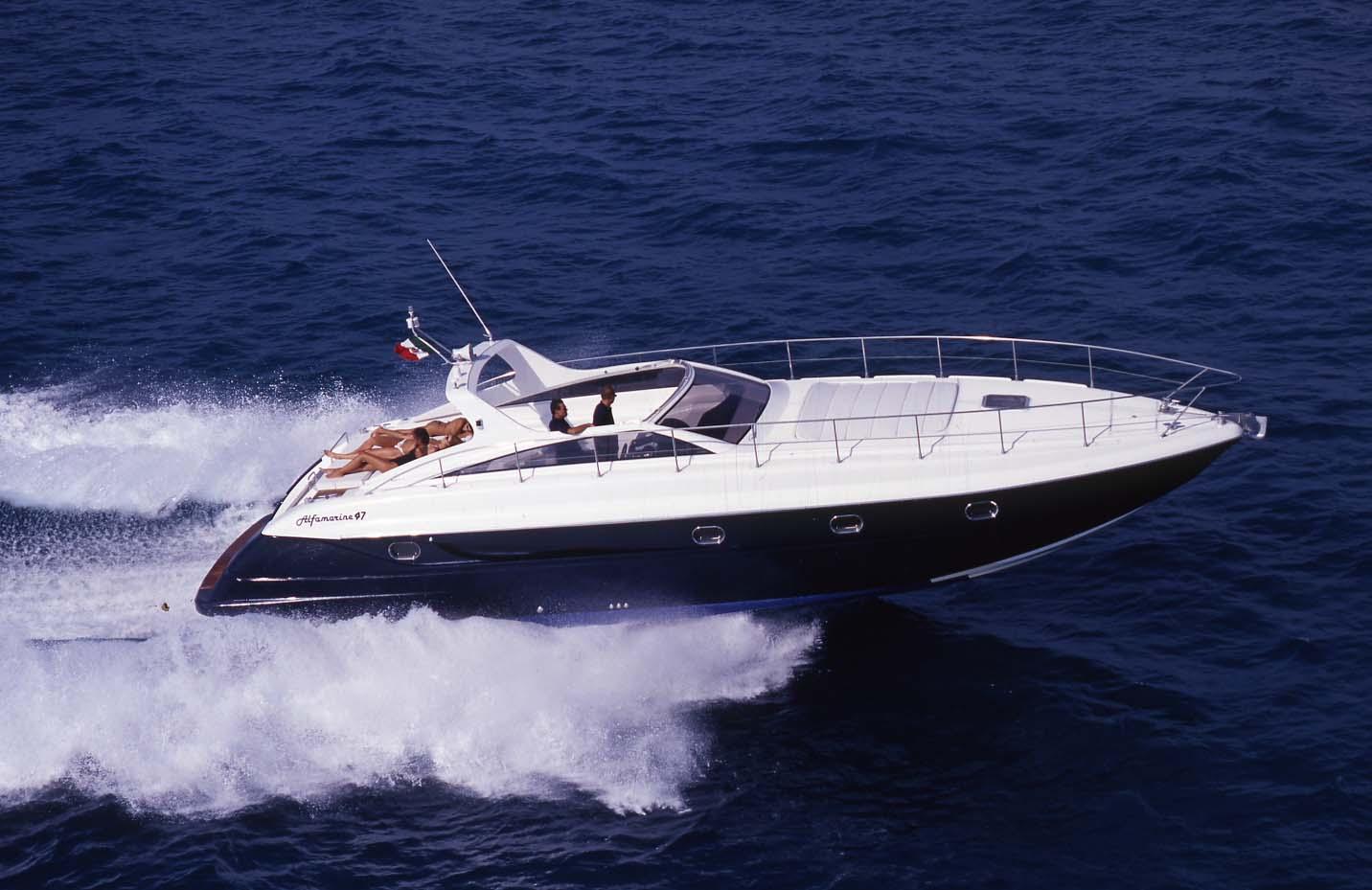 location bateau Alfamarine 47