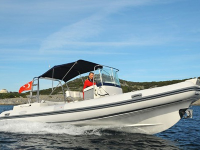 location bateau North Star 680 RW
