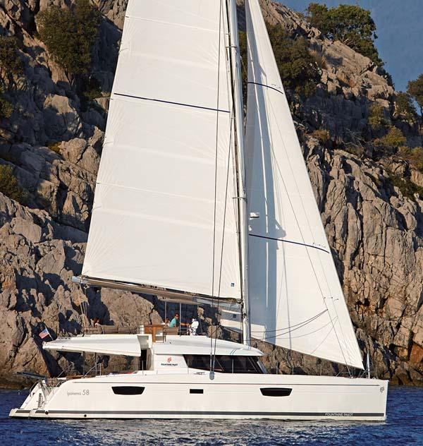 location bateau Ipanema 58