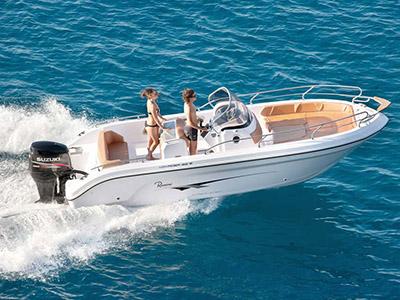 location bateau Ranieri 23 S