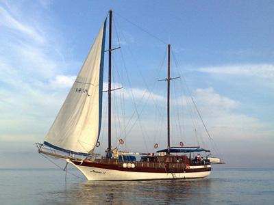 location bateau Ariva II