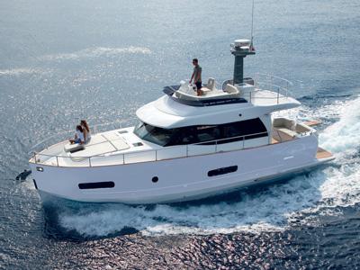 location bateau Magellano 43 Fly