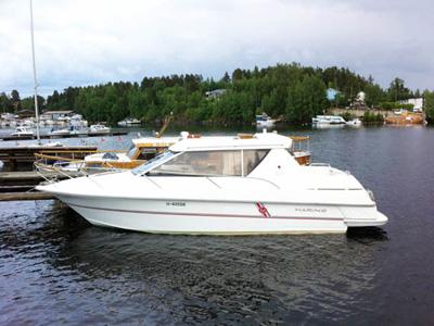 location bateau Marino Shark