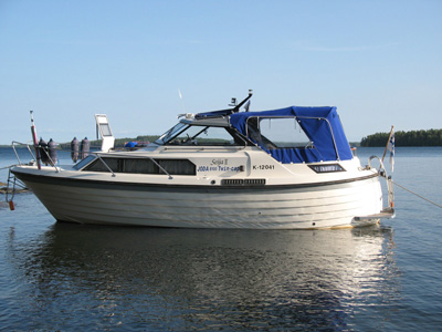 location bateau Joda 8100