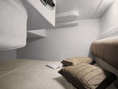 intérieur Sea Ray 255 Sundancer