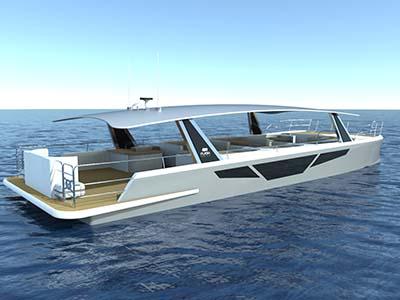 Location bateau  Flash Cat 58 Passenger