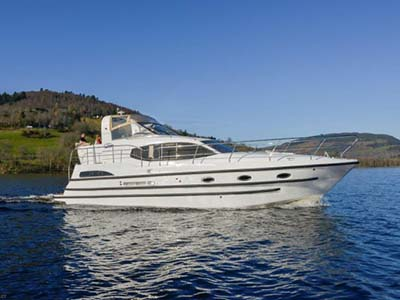 location bateau Kintail