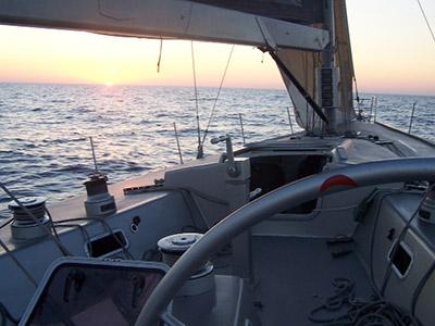 äußere Sailing Yacht