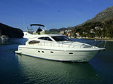 location bateau Ferretti 480
