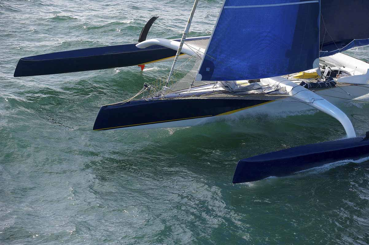 esterno Trimaran Ultim'Emotion