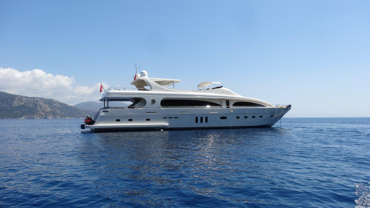 location bateau Mengi Yay M&M 35m