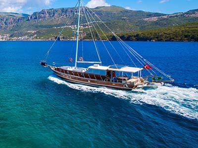 location bateau Evita