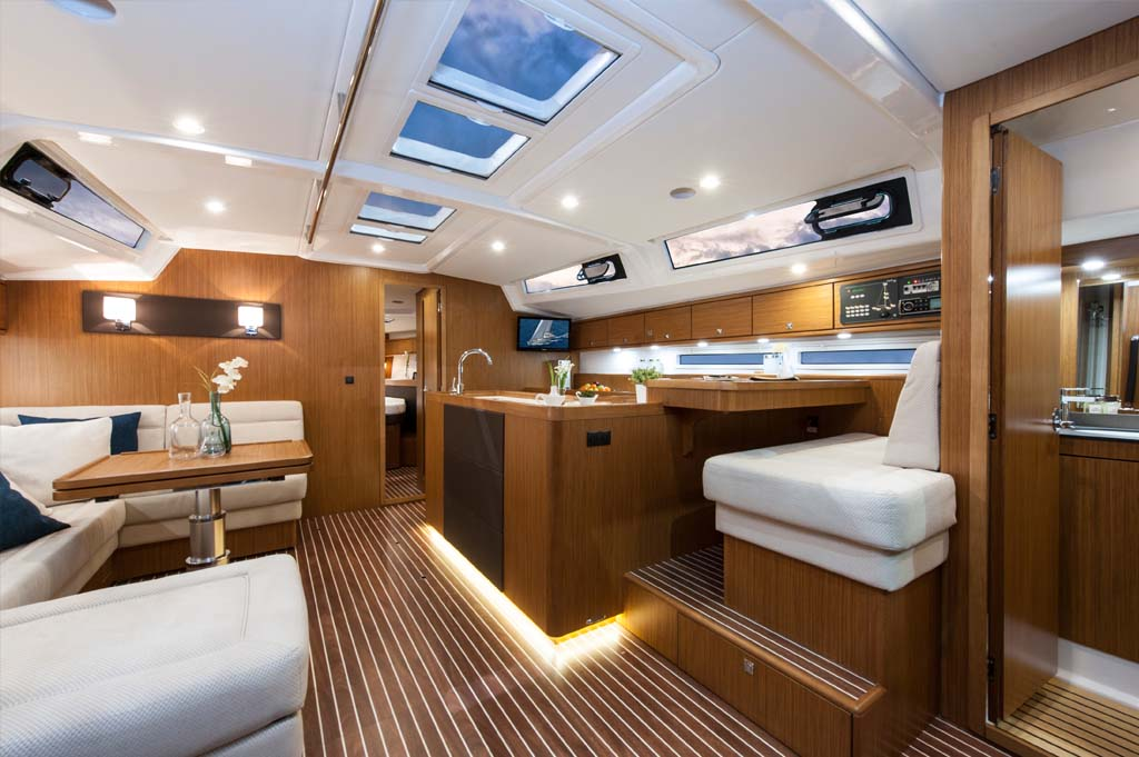 inside Bavaria 56 Cruiser