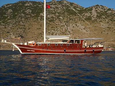 location bateau Santa Maria