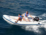 location bateau Zoom SR 400