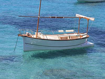 Location bateau  Llaut Formentera