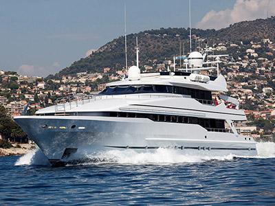 location bateau Heesen Yacht
