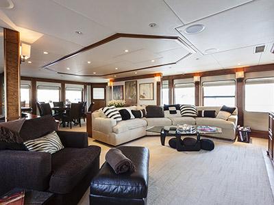 intérieur Heesen Yacht