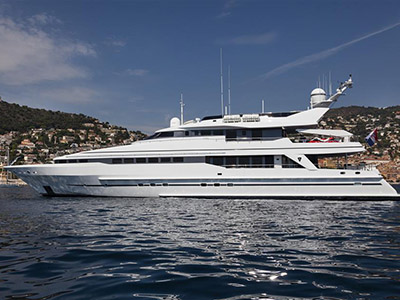 extérieur Heesen Yacht