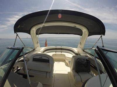 outside Sea Ray 295 SLX