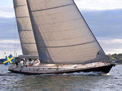 location bateau Swan 77