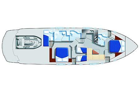 intérieur Pershing 56