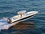 location bateau Scarab Wellcraft 35