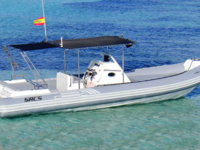 location bateau Sacs S33