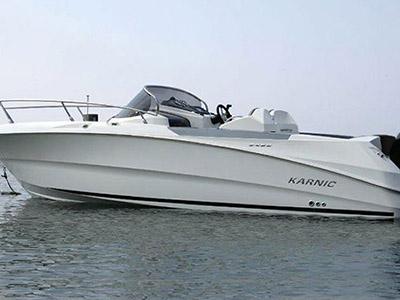 location bateau Karnic 2251 Open