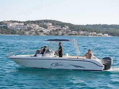Location bateau  Saver 720