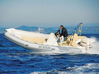 location bateau Master 660 open