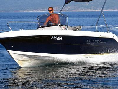 Location bateau  Atlantic Marine 550