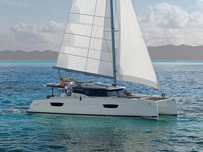 Location bateau  Fountaine Pajot 47 Quintet