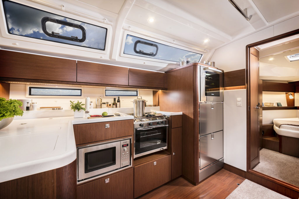 intérieur Bavaria Cruiser 46 Style