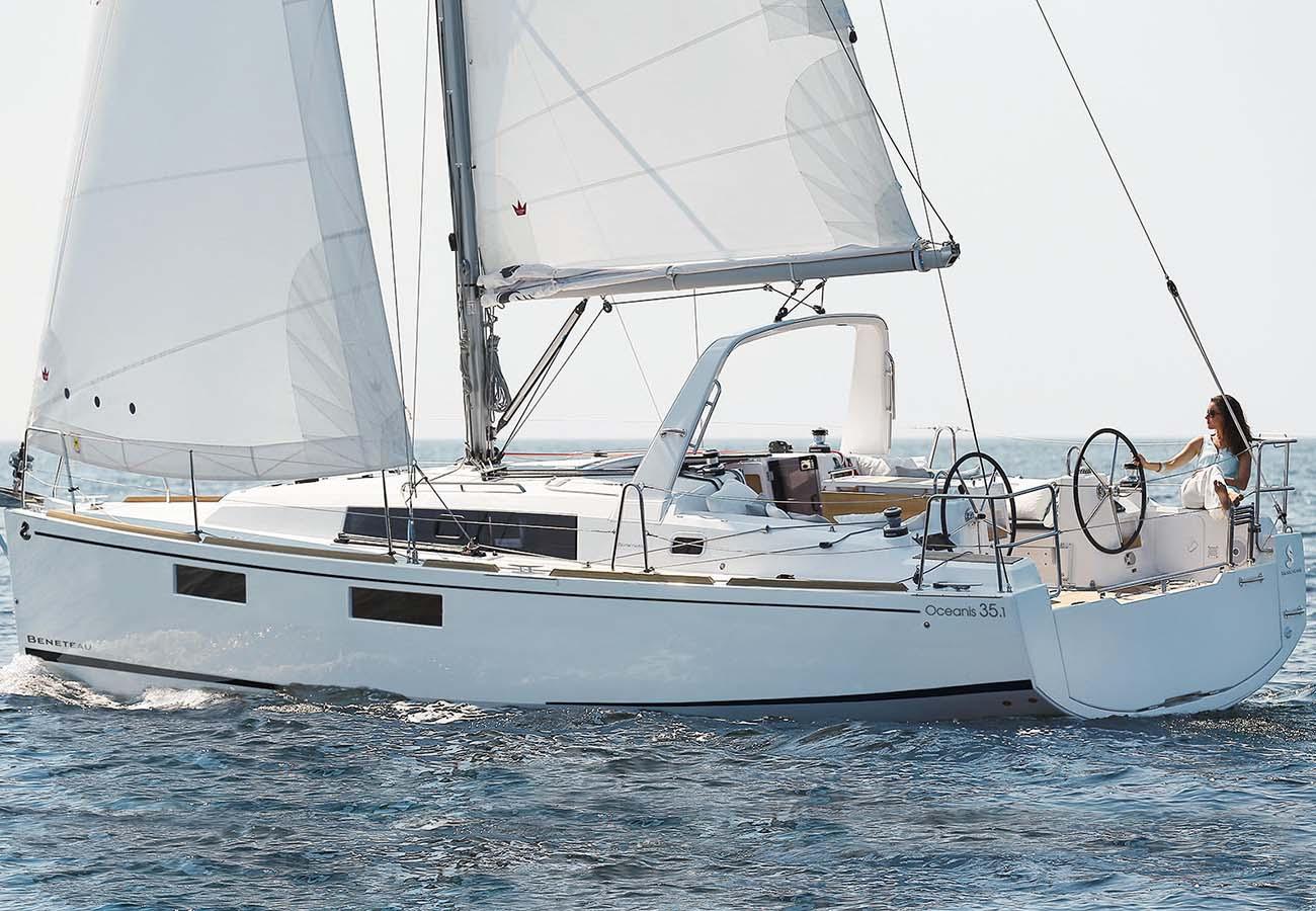 location bateau Oceanis 35.1