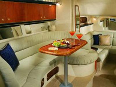 intérieur Sea Ray 340 Sundancer