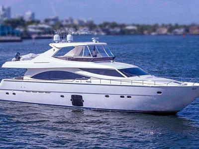 location bateau Ferretti 83