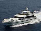 location bateau Cheoy Lee 92