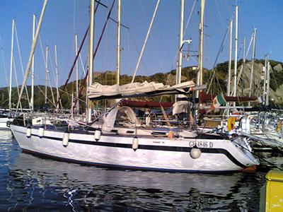 location bateau Comet 14