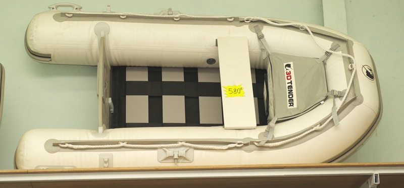 intérieur 3D Tender 580