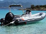 location bateau Predator 650 TS