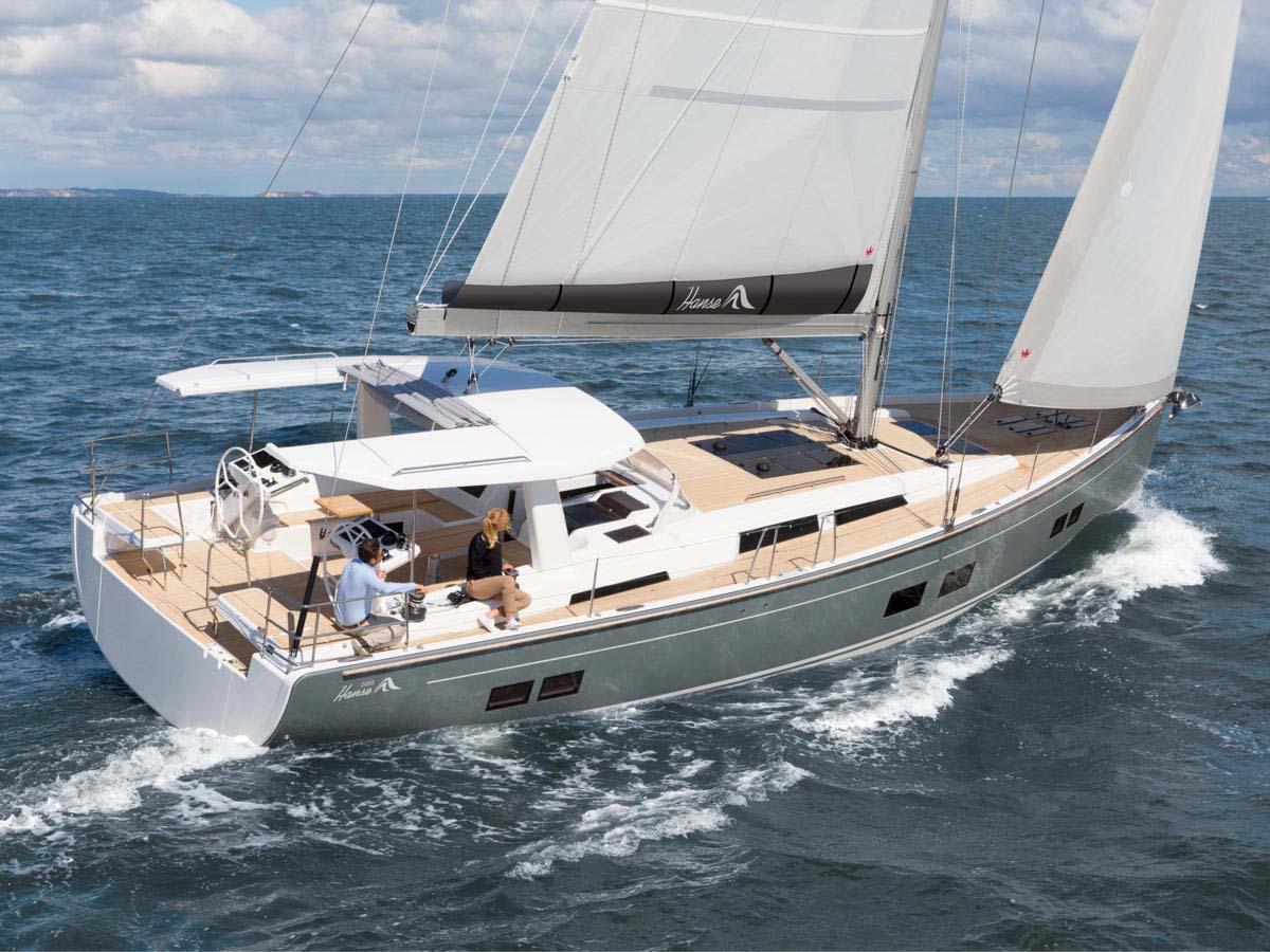 location bateau Hanse 588